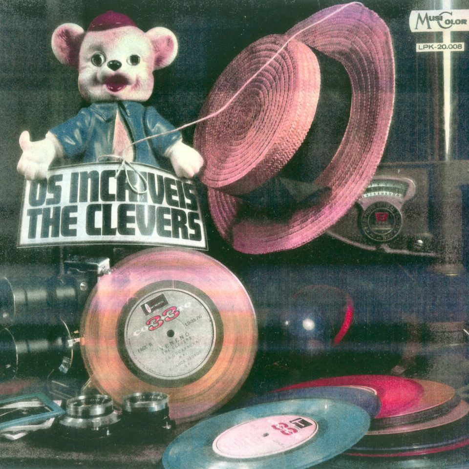 LP FRENTE OS INCRIVEIS THE CLEVERS MUSICOLOR