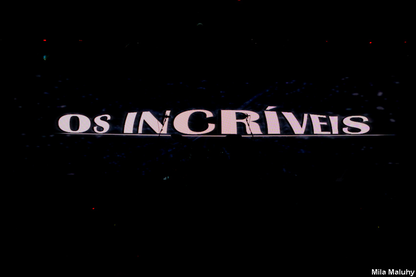 Os Incriveis – show do DVD