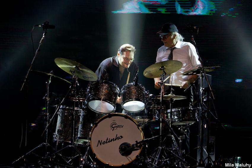Sandro e Netinho – solo de bateria