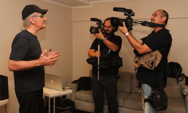 Netinho - entrevista depois do show