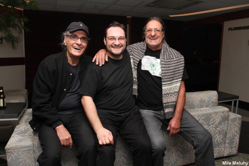 Netinho, Sandro Haick e Marinho – tres geracoes de bateristas na familia