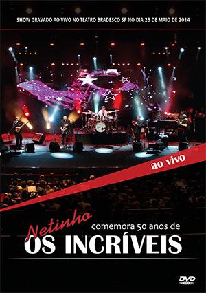 capa do DVD de 50 anos dos Incriveis