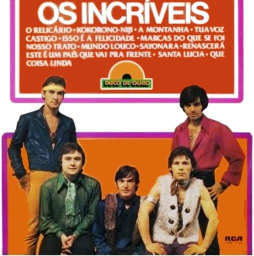 OS INCRIVEIS-DISCO DE OURO-1977-CAPA